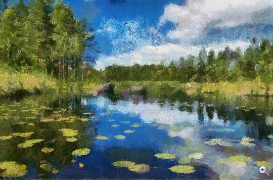 Monet stílus