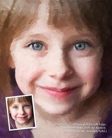 Ez a kép a Foto Sketcher-rel készült, a Painting 7 (brushstrokes) nevű stílussal, teljesen automatikusan