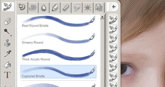 Corel Painter Essentials - Captured Bristle