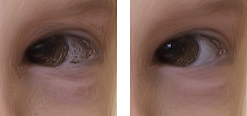 Corel Painter Essentials - A szemek finomítása